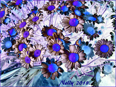 *Monday... (MONKEY50) Tags: art digital flower daisy 172017 may spring abstract colors pentaxart nature hypothetical autofocus awardtree artdigital netartii plant musictomyeyes flickraward contactgroups pentaxflickraward