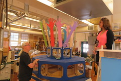 Creating the Art Float - Tam Makers - May 2018 - Photo - 20