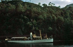Sir Walter Scott Trossachs 1977 (D70) Tags: ss sir walter scott is small steamship that has provided pleasure cruises ferry service loch katrine scenic trossachs scotland for more than century only surviving screw steamer regular passenger