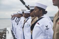 180523-N-OS569-044 (FleetWeekNewYork) Tags: nyfw navy newyorkfleetweek marine marines sailors ship ussarlington lpd24 lpd underway uso newyork ny