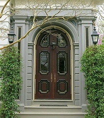 No. 21 King Street (c.1852), Charleston, SC (Spencer Means) Tags: architecture door doorway arch 21 king street charleston below south broad sc southcarolina dwwg