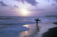 Echo Beach   Bali 2018 (Nicholas Lee-Shield) Tags: bali indonesia echo beach echobeach surfer waves surf surfwaves sunset travel travelphotography olympus olympusom1 kodakportra