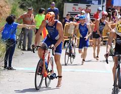 David Huertas Campeón Aragón Triatlón Olímpico Clasificatorio Tarazona (1)