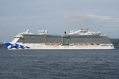 Royal Princess - Greenock . 19-05-18 (MarkP51) Tags: royalprincess greenock firthofclyde cruiseliner ship boat vessel maritimephotography sunshine sunny nikon d7100 d7200