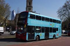 IMGP9189 (Steve Guess) Tags: arriva wright volvo hopper tfl advert waterloo tennisonway lambeth london england gb uk bus transportforlondon lf67evb hv355