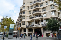 La Pedrera, Gaudi (jbdodane) Tags: barcelona europe gaudi lapedrera spain