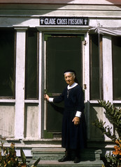 Deaconess Bedell at Glade Cross Mission in Everglades City (State Library and Archives of Florida) Tags: florida evergladescity missions womenmissionaries deconesses portraits episcopaldeacons episcopal gladecrossmission bedell harrietmbedell