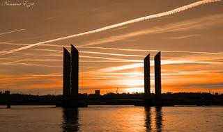 Aube à Bordeaux