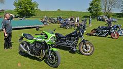 Name Dropping.. (Harleynik Rides Again.) Tags: z900 kawasaki fxdls hd avebury motorcycles bike harleynikridesagain niksamson