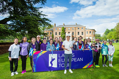 Melissa Reid and the Solheim Cup and young fans (Ladies European Tour) Tags: denham buckinghamshire england eng