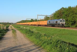 Rheincargo DE61 @ Fluitenberg (Hoogeveen)