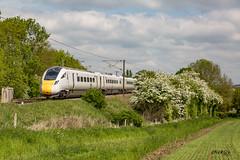 801101 IEP Hitachi on test (deltic17) Tags: iep hitachi train modern new newtrain 801 801101 countryside nottinghamshire dualfuel clouds green canon fast virgin eastcoast ecml eastcoastmainline
