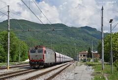 Trino in partenza (Paolo.Giordano) Tags: e652 160 tigre mir trino robilante ferrovia treno