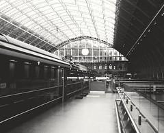 the uncertainty of time (BedBrochFlick) Tags: stpancras ldn mmxviii uk england londinium londres london