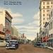 Clematis Street West Palm Beach Vintage Postcard