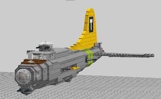 Fortress 17 fuselage 3q