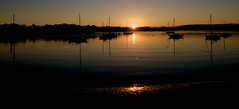 DSC_4870 (norberto.luis/myshots) Tags: sunrise batemans bay sun sea boats