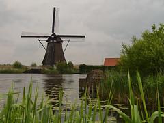 Mühle - MIlls - Molen (achim-51) Tags: dmcg5 panasonic lumix mühle mill molen netherland niederlande natur outdoor wasser grün wolken himmel