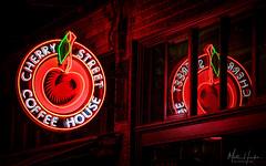 Cherry Street Coffee House (matthucke) Tags: seattle seattlecenter belltown neon sign neonsign coffee