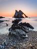 A Lower Viewpoint (Stoates-Findhorn) Tags: portknockie rock sunrise moray morayfirth sea dawn 2018 pebbles le daybreak scotland bowfiddle shore unitedkingdom gb
