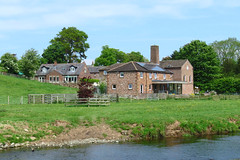 Carleton Mill by the River Petteril, 21 May 18 (gillean55) Tags: canon powershot sx60 hs superzoom bridge camera north cumbria river petteril carletonmill restored carlisle