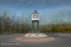 James North Clock, Hyde, Cheshire (Osdog LRPS CPAGB BPE3*) Tags: clock intheround multipleexposure hyde cheshire