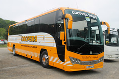 Coopers Tours: R70JCS Volvo B11R/Plaxton Panther 3 (emdjt42) Tags: r70jcs volvo cooperstours coach beamish