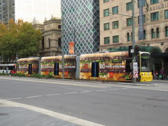 Tram 109 on King William St (RS 1990) Tags: tram 109 kingwilliamst mcdonalds bigmac wrap adelaide southaustralia thursday 24th may 2018