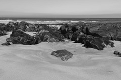 Rocks,St Combs Beach_may 18_641 (Alan Longmuir.) Tags: monochrome rocks stcombsbeach grampian aberdeenshire stcombs
