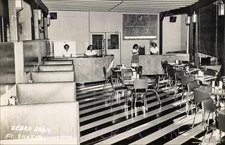 Zebra Room Snack Bar Shafter 50s