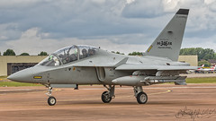 Leonardo-Finmeccanica Aermacchi T-346A Master MT55219 (benji1867) Tags: leonardofinmeccanica aermacchi t346a master mt55219 riat riat2017 riat17 royal international air tattoo 2017 17 raf force fairford avgeek avporn aviation fly flight flying canon 7d2 airshow show display demo demonstration england uk united kingdom leonardo fa fighter attack aermacci