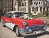 Buick Century (Simon BOISVINET) Tags: car buick century photography x100f fujifilm caen normandie abbayeauxhommes voiture sun wedding vintage chrome red flowers tennessee nashville