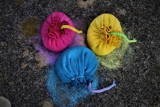 trio of colour