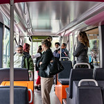 City of Surrey Souls Checking Out the Surrey LRT Tram Interior thumbnail