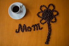 Mom day (priolo_vittoria) Tags: momday flower written italic addiction bean beverage brown cafe caffeine coffee cultures flatlay drink espresso gourmet heat liquid material mocha plate table view white wood cup caffè stilllife composition design