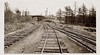 Looking out of the Chesapeake Beach RR yards in DC with Central Ave. bridge in the background - 1931 (over 18 MILLION views Thanks) Tags: chesapeakebeachrailroad 1930s washingtondc chesapeakebeachmd shortline railroad abandoned