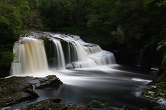 Falls of Clyde (aj.photos1) Tags: water fall waterfall clyde fallsofclyde scotland glasgow lanark new river nd filter 1000 photography photo