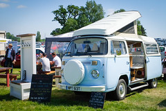 Vintage VW Camper at the Hadleigh Show 2018 (ho_hokus) Tags: 2018 campervan england fujix20 fujifilmx20 hadleigh hadleighshow suffolk vw volkswagen show