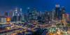 Singapore Cityscape HDR Twilight (hackdragon) Tags: cityscape city high rise apartment building singapore sg lky chinatown cbd central business district financial center office condominium road shophouse shop twilight before dark low light night evening wallpaper beautiful amazing wow skyscraper hdb flat whatmakessg