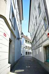 A small lane in Winterthur/Switzerland (paaddor) Tags: city buildings beautiful lovely photography architecture cityscape travelphotography adventures awesome explore travel traveling cool nikond3400 wonderful travelling streetphotography travellingthroughtheworld travelattraction streetsandhouses