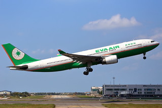 EVA Air, Airbus A330-200 (B-16312), Taoyuan International Airport, Taiwan R.O.C.