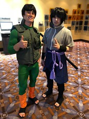 Guy and Sasuke (blueZhift) Tags: animecentral2018 acen 2018 cosplay anime manga comics videogames costume cartoons scifi fantasy