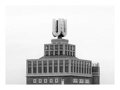 Die Stadt 229 (sw188) Tags: deutschland nrw ruhrgebiet westfalen dortmund u union brauerei sw stadtlandschaft bw blackandwhite sachlichkeit