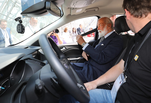HRH Prince Michael of Kent puts safety first