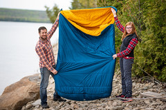 MEC FIreside 0C Double Sleeping Bag Review (blurMEDIA Stock) Tags: 0c 3season canada fireside0cdoublesleepingbag ontario adventure autumn backcountry backpacking bestdoublesleepingbag bestdoublesleepingbagforcouples cabin camp camping campsite canoetrip canoeing carcamping child cottage couples couplescamping double doublesleepingbag doublesleepingbagreview fall family familycamping familyvacation fireside forest landscape lifestyle mec mecfireside mecfiresidereview mountainequipmentcoop outdoor outdoors recreation rei remote sleepingbag spring summer synthetic threeseason travel vacation wilderness woods
