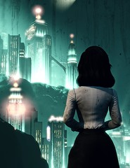 """Memories"" (L1netty) Tags: bioshockinfinite bioshock irrationalgames 2kgames pc game games gaming pcgaming videogame videogames reshade screenshot 4k character elizabeth elizabethcomstock girl female people color rapture water underwater city"