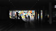 At the museum (lorenzog.) Tags: vìkunstsammlungnordrheinwestfalen museum modernart art dusserdorf germany people silhouette paulklee paulkleeplatz ilobsterit