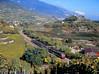 Weinparadies Wallis (trainspotter64) Tags: eisenbahn zug train treno tren trein triebwagen railroad railway spoorwegen vlak bahn schweiz suisse svizzera sbb cff ffs wallis valais rhône rhônetal npz alpen berge weinberg herbst
