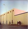.(half a shadow you'll be) walkin' in the sunshine (Herr Benini) Tags: essaouira morocco marokko africa afrika rosa pink wall kiev88 analog film 6x6