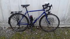 Hewitt Cheviot Touring Bike Flamboyant Blue (Large) (drbw120367) Tags: hewitt cheviot flamboyant blue large steel british made retro classic modern vintage style touring bike tourer cool cult old skool steed 700c road racing bicycle cycle reynolds 631 shimano xtr groupset rdm972sgs fdm971 fcm970 pda530 slbs78 csm771 10 speed 30sp thomson elite x4 deda zero 100 bartape bars blackburn brooks b17 special dt swiss tk540 36h alpine3 cat eye micro continental hardshell blr600 fizik hudz nos campagnolo bespoke build m5 sram sks p35 avid shorty6